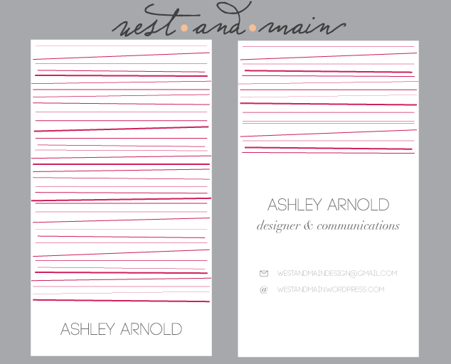Business Card 1 Lines