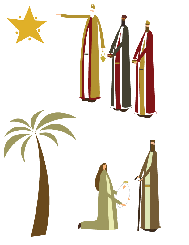 Return to Skinny Man Nativity (Free Printable)